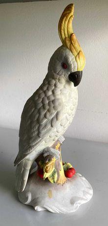 Pássaro / Catatua em porcelana - Vista Alegre