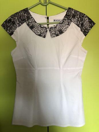 Biała elegancka bluzeczka