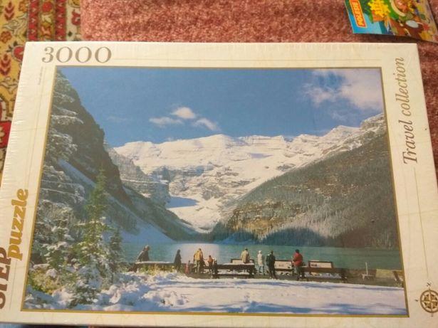 StepPuzzle 3000 шт. Озеро в горах 1160*850 мм