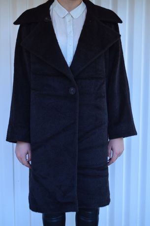 Классное пальто Max Mara alpaca (Шуба)