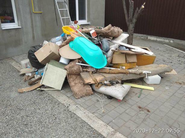Вывоз бытового мусора, строительного мусора, старой мебели, хлама