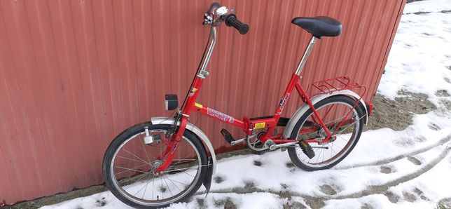 rower Wigry 3 składak stan BARDZO DOBRY prl  z 1993r