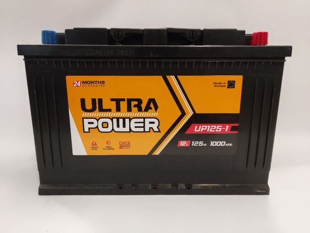 Akumulator 125AH 1000A 12V ULTRA POWER