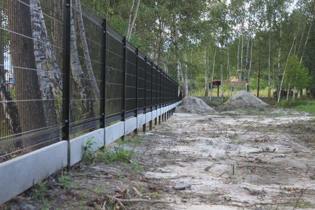 Ogrodzenia panelowe PRODUCENT komplet + podmurówka CZCHÓW