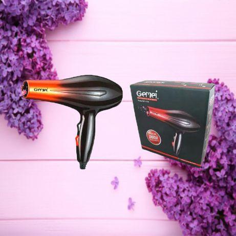 Фен профессиональный для сушки волос Gemei GM-1719 1800W