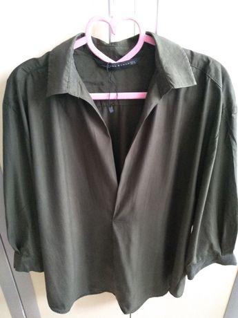 Koszula ZARA khaki