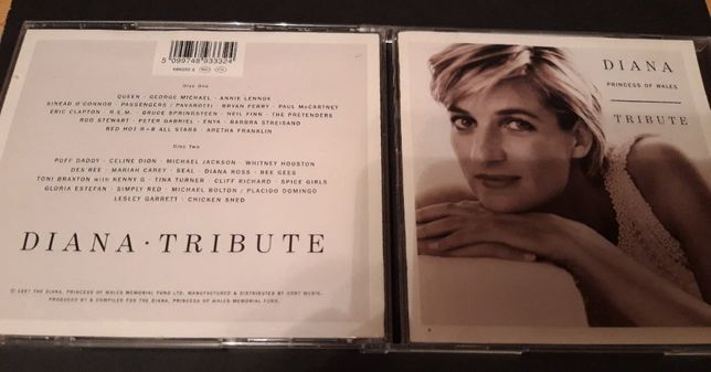 Diana - Tribute, 2 CD , 1997 , Queen, Clapton, Gabriel , Enya i inni