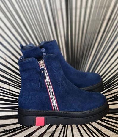 Зимние ботинки челси