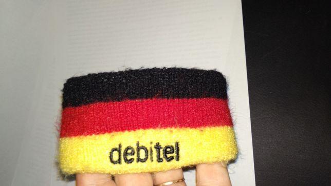 спорт фитнес махровая повязка флаг германия