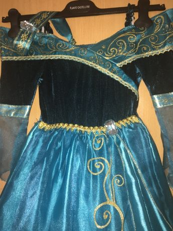 Карнавальный костюм, карнавальное платье принцессы Мерида