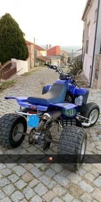 Yamaha warrior 350 Matriculada