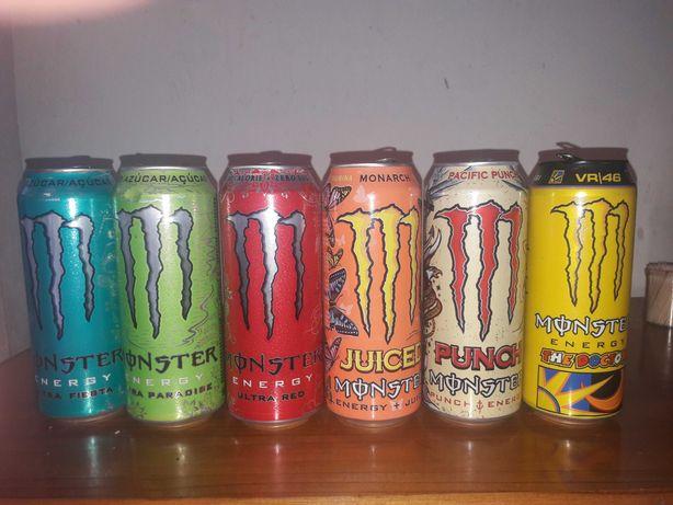 10 Latas de Colecção Monster
