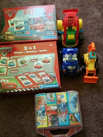 Zestaw zabawek dla małego chłopca