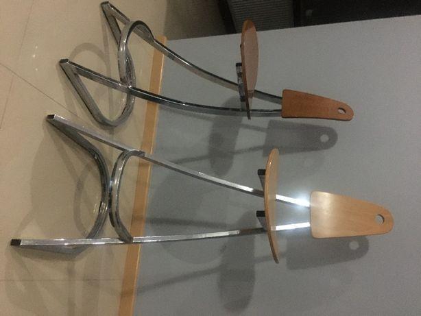 Krzesła, hoker, stołek barowy, 4 sztuki
