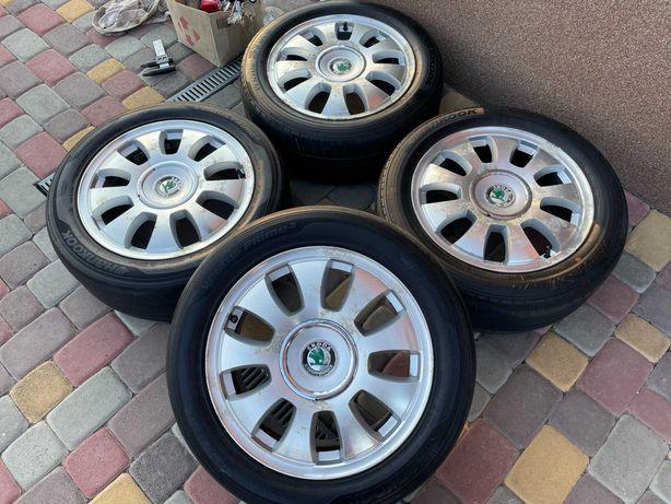Тітанові діски Piniforina 5*100 R16 VW Golf 4-Skoda rapid-faBia-Audi 3