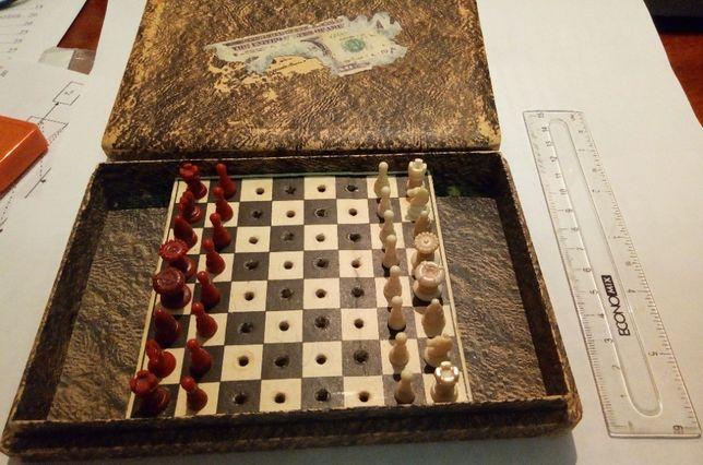 Дорожные шахматы винтаж