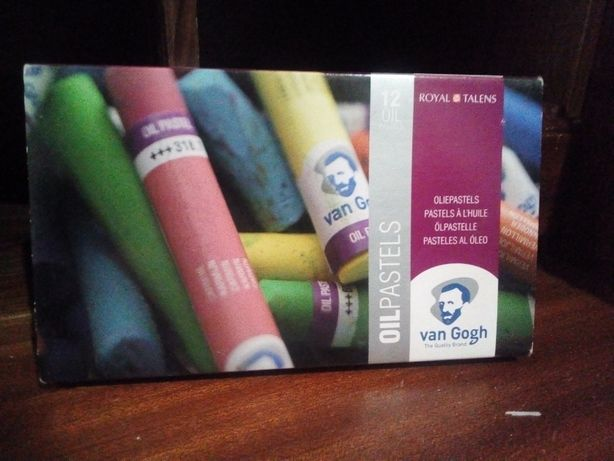 Caixa básica de pasteis a óleo - Van Gogh   c/ oferta