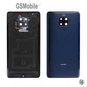 Tampa bateria sensor Huawei Mate 20 X EVR-L29 Azul - Original