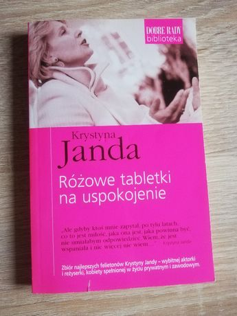 książka Różowe tabletki na uspokojenie, Janda Krystyna