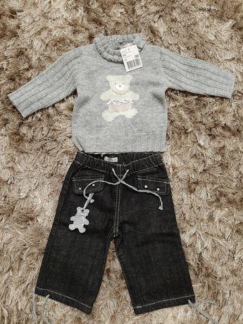 Комплект штани і сведр для дівчинки
