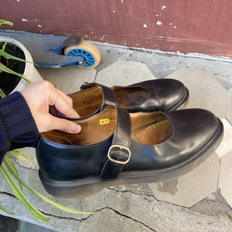 туфли на ремешке Dr.Martens Mary Jane