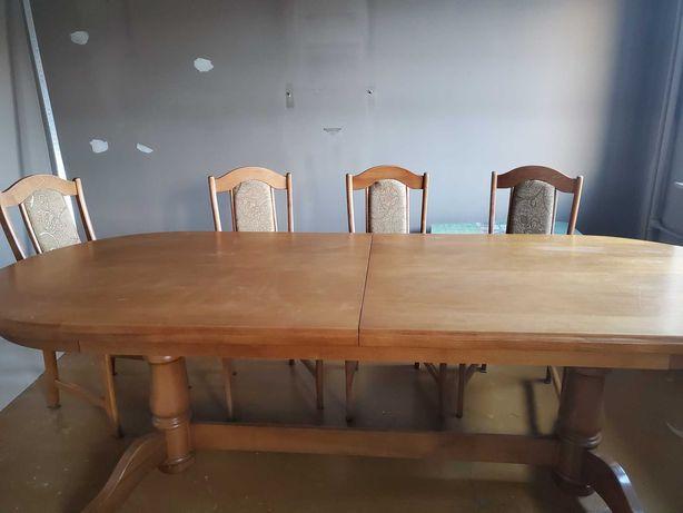 Stol + 8 krzeseł