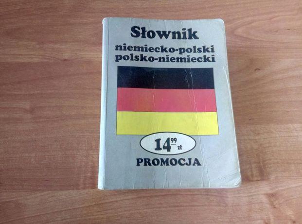 SŁOWNIK niemiecko-polski, polsko-niemiecki. OKAZJA 5zł