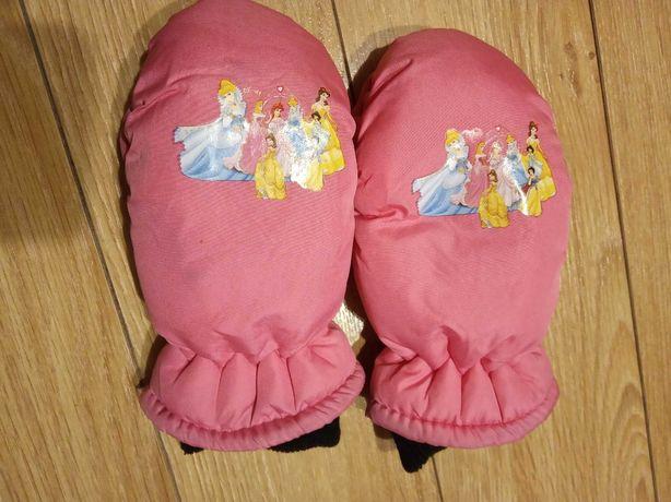 Rękawiczki Barbie dla 4,5 latki