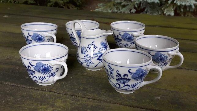 Nowy komplet filiżanek porcelana bawarska