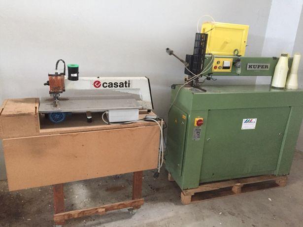Maquina de coser folha Casati Kuper