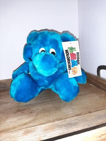 Kolorkins azul kodak peluche antigo