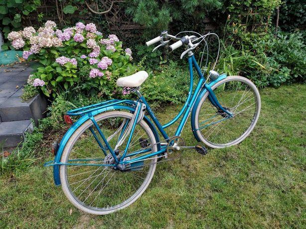 rower oryginalny Batavus Old Dutch holenderski damka turkusowy