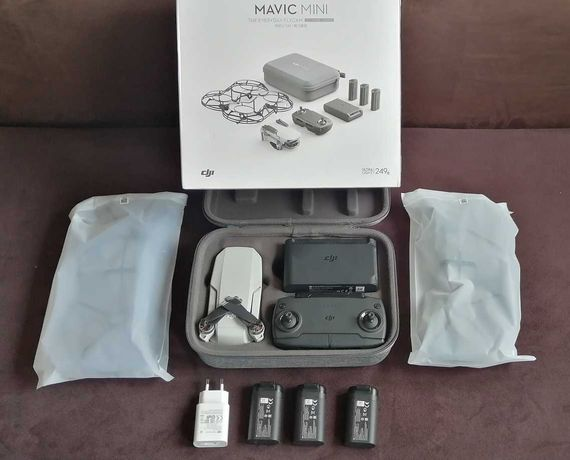 DJI Mavic Mini - Fly More Combo - dron, Gw: 24 m-ce, DJI CARE Refresh!
