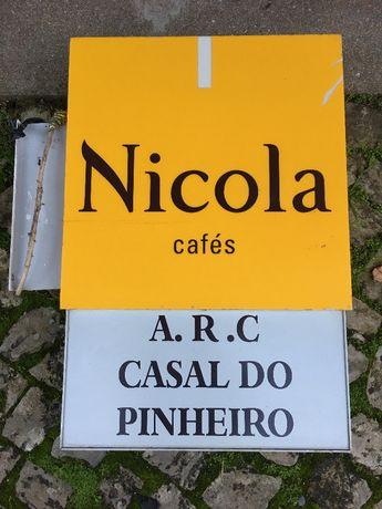 Reclame Luminoso Cafés NICOLA