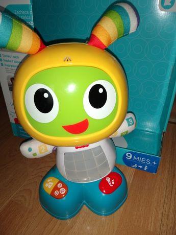 Robot Bebo Fischer Price zabawka interaktywna edukacyjna