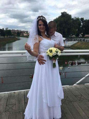 Свадебное платье на рост 175 -180 см