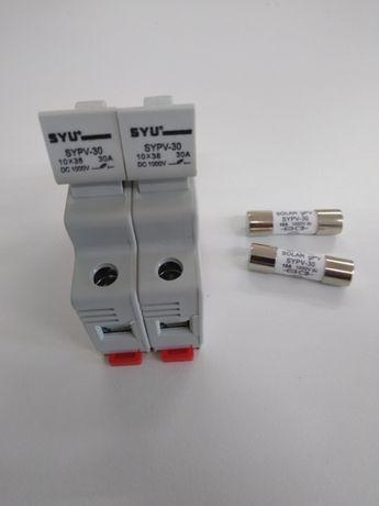 Rozłączniki bezpiecznikowe z wkładkami 1000V DC FOTOWOLTAIKA