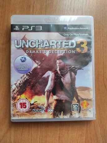 Uncharted 3 Oszustwo Drakea PS3 (Nowa)