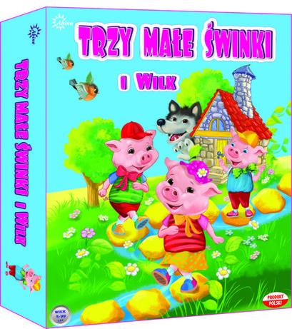 Gra Planszowa Trzy Małe Świnki I Wilk 7268