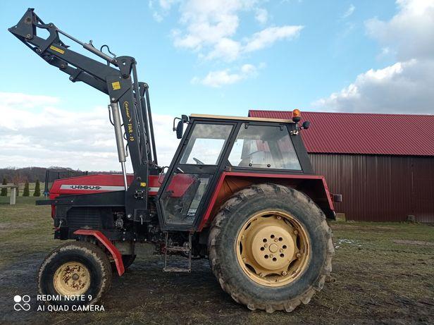 Ciągnik rolniczy Ursus 912 z turem