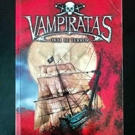 """Vendo - livro """"Vampiratas"""" vol. 2"""