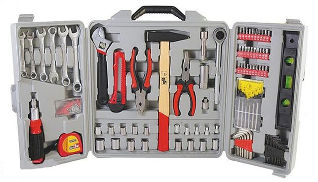 Набор инструмента Master Tool 173 элемента В Большом Кейсе