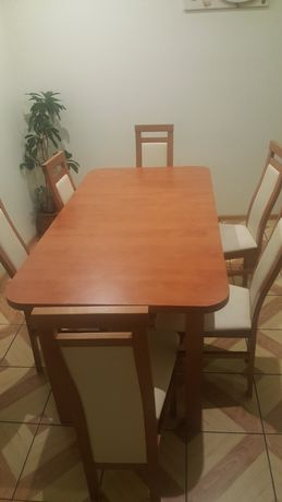 Stół kzesła