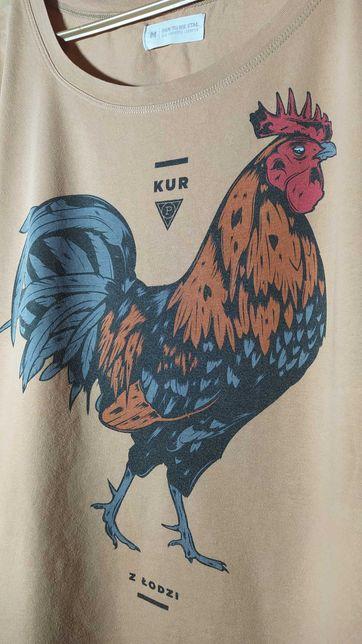 Koszulka Kur z Łodzi Pan Tu Nie Stał