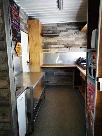 Przyczepa gastronomiczna, kontener (pawilon handlowy, bar)
