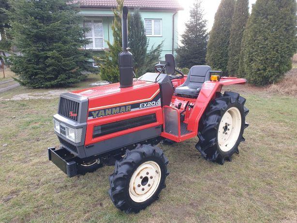 Yanmar FX20D 4x4 20KM / FILM-VIDEO / Japoński traktor sadowniczy