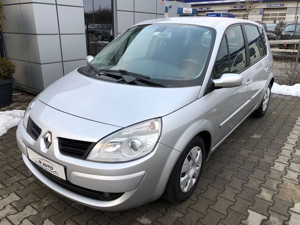 Renault scenic 1.6 benz. 1 wlasciciel + serwis w Aso