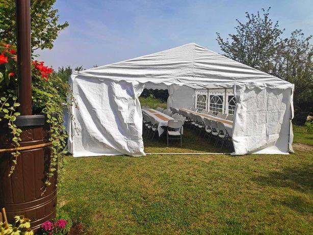 Namiot imprezowy/bankietowy – Wynajem, namioty, stoły, krzesła