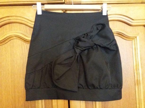 Юбка черного цвета 146см
