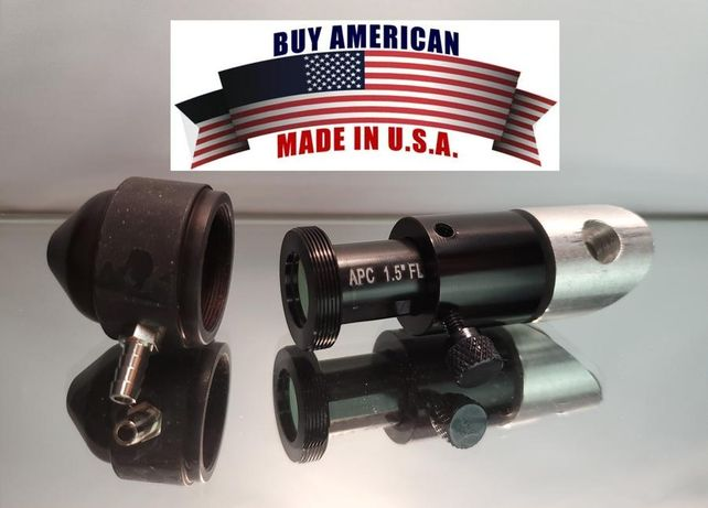 Kit lente e nozzle upgrade máquina laser co2 k40 American photonics